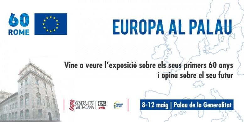 El Consell se suma a la celebración del Día de Europa con jornadas de puertas abiertas y actividades en el Palau de la Generalitat