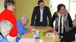 Igualdad estudiará duplicar las plazas del centro de día para personas mayores dependientes 'Juan Bautista Mompó Albiñana' de L'Olleria