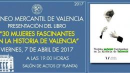 Presentación del libro solidario '30 mujeres fascinantes en la historia de Valencia'