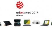 Acer recibe 7 prestigiosos premios Red Dot Awards en la categoría de Diseño de Producto 2017