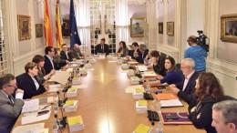 El PSPV pide a Les Corts que instale de forma permanente la bandera de la Unión Europea en el hemiciclo