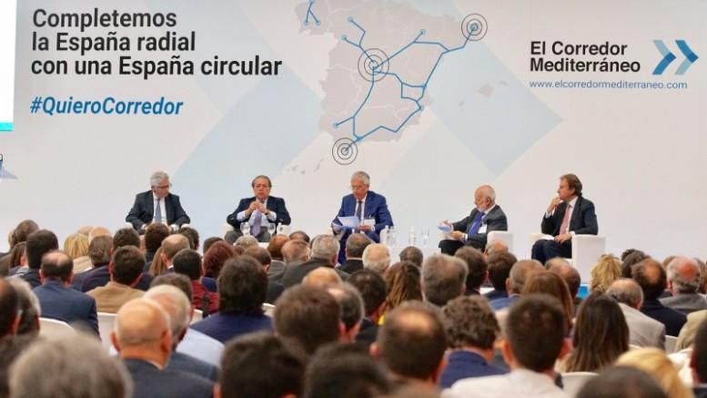 València acogerá dos actos sobre el Corredor Mediterráneo en el ámbito estatal y europeo