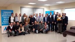 Nicolaus Müller realiza su primera visita a la planta española de MC Bauchemie como nuevo Director General