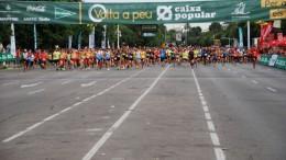 salida de la 35 volta a peu de Valencia