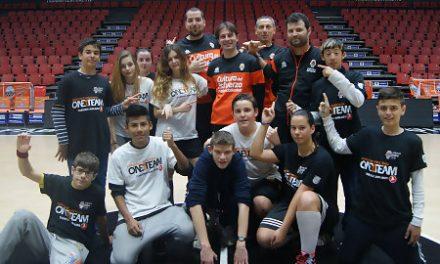 """Valencia Basket y """"Mamás en acción"""" inician el séptimo proyecto One Team"""