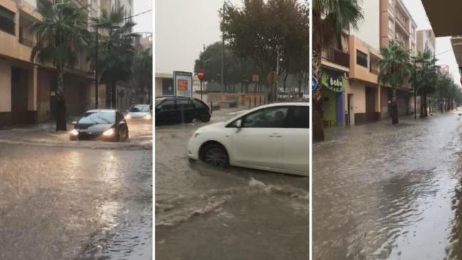 Alboraya sufre los efectos del temporal