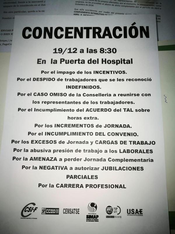 Comite de Empresa Hospital de la Ribera de Alzira