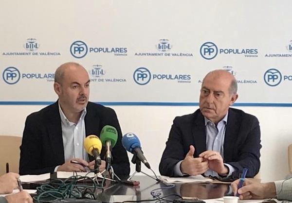 Eusebio Monzó y Alfonso Novo durante la rueda de prensa
