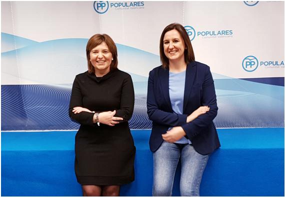 María José Català recoge el testigo de Rita Barberá, la mejor alcaldesa de Valencia