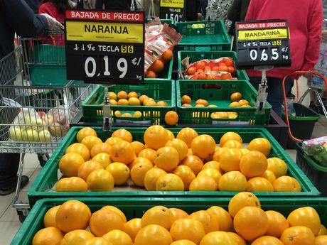 Origen de las naranjas de Mercadona