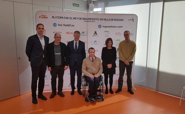 La 41º Copa del Rey de Baloncesto en Silla de Ruedas, presentada en L'Alqueria del Basket