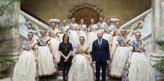 La Diputación de Valencia ha celebrado este martes la recepción a las comisiones de la ciudad y las comarcas