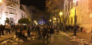 Bando de Fallas: Prohibidos los botellones, ¿y que va a hacer el Ayuntamiento?
