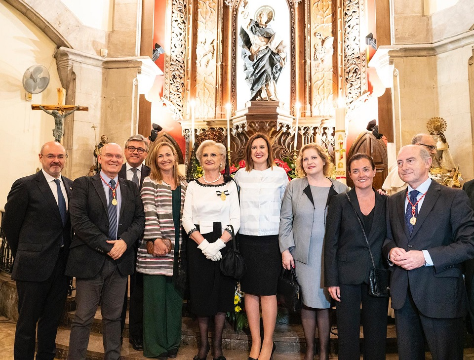 Mª José Catalá en los actos de celebración de la fiesta de SantVicent Ferrer