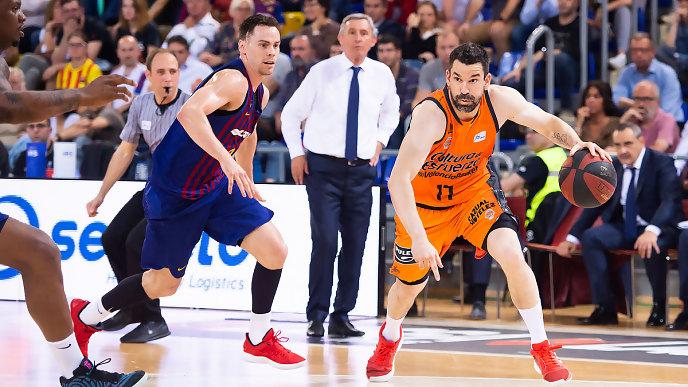Un serio Valencia Basket gana en Barcelona y asegura factor campo en play off (72-78)