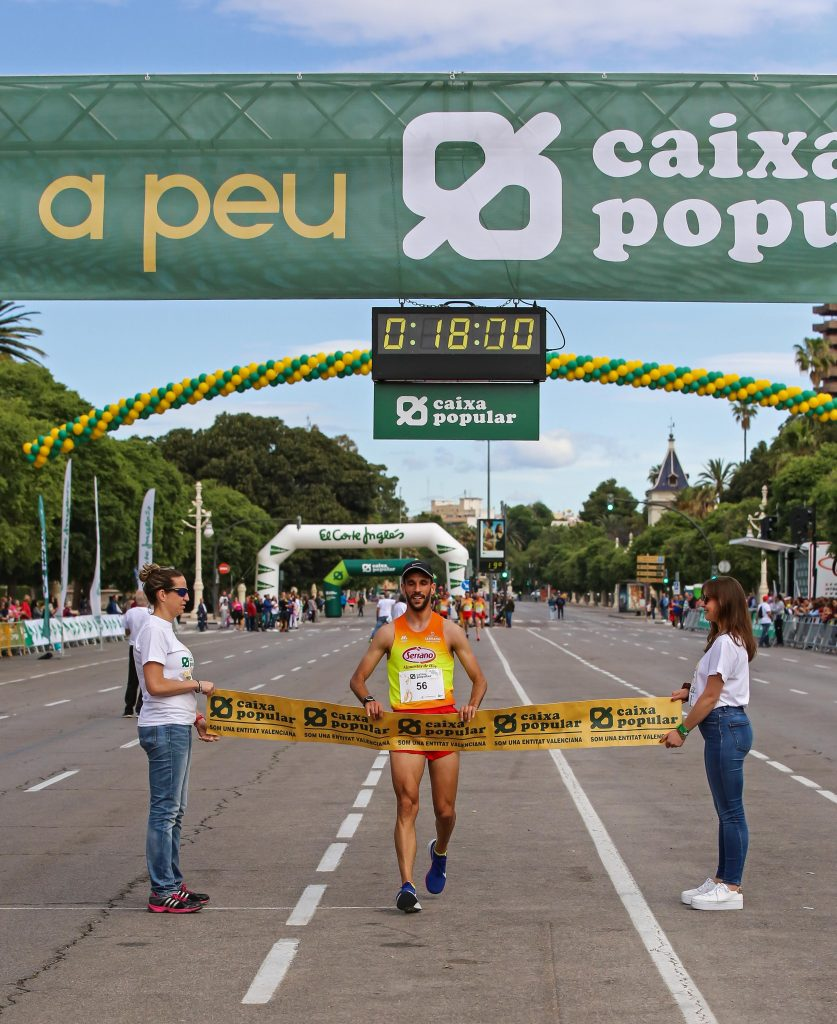 Volta a Peu, Alberto López Campeón Masculino