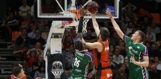 Valencia Basket se enfrenta por sexta vez al Unicaja en el Playoff de la Liga Endesa