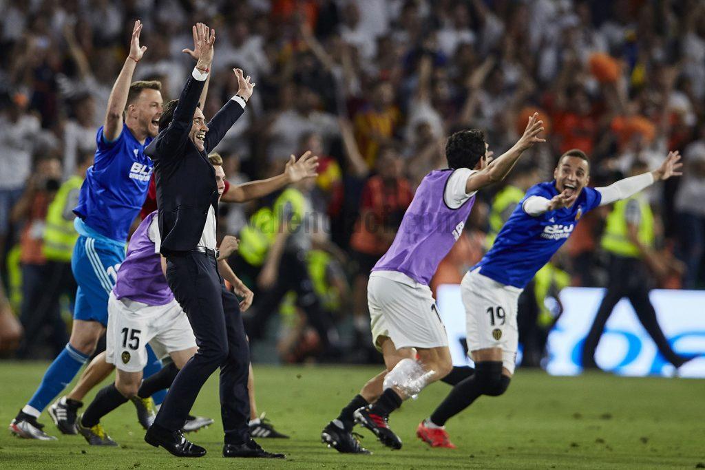 Desde el banquillo a la gloria, se ha ganado la Copa