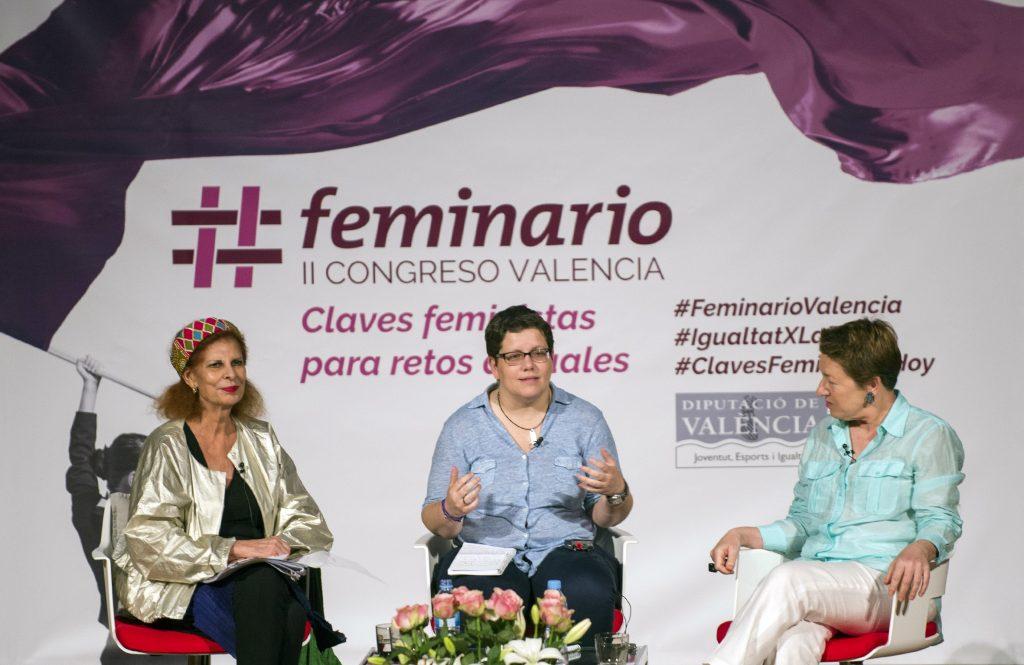 """Carmen Alborch """" El feminismo debería ser declarado Patrimonio Inmaterial de la Humanidad""""."""