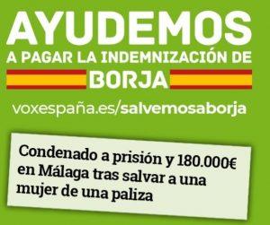 Ayudemos a Borja, Que hacer lo correcto no te lleve a la cárcel.