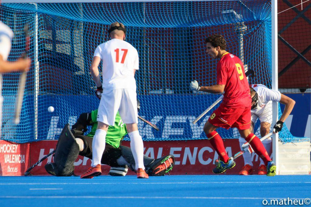 España gana a Polonia 6-1 en Eurohockey