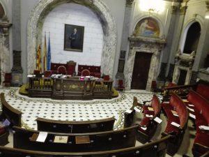 El Pleno del Ayuntamiento parado