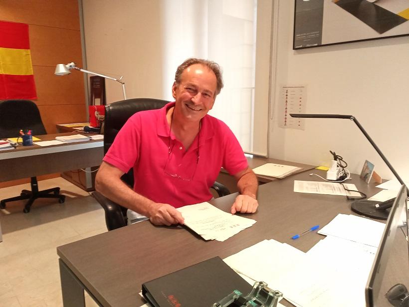 José Luis Aguirre, diputado por Valencia del Grupo Parlamentario VOX en las Cortes Valencianas