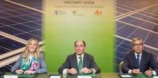 El BEI y el ICO e IBERDROLA suscriben una financiación verde para la mayor planta solar fotovoltaica en construcción en Europa, ubicada en Extremadura