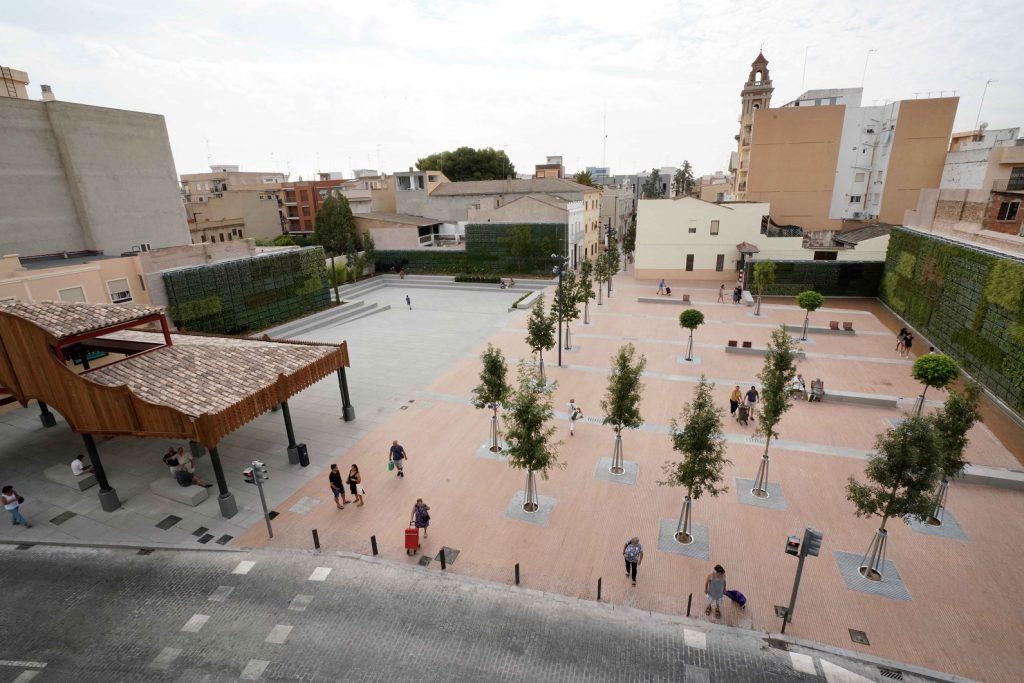 Plaça dEspanya de Tavernes Blanques Valencia