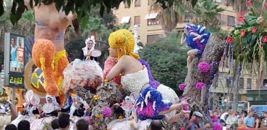 El Ayuntamiento no ha licitado las carrozas de la Batalla de Flores