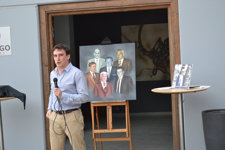 David Lafuente glosando a los fundadores de Ubiergo