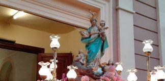 El Cabanyal sale a la calle con la Virgen de los Ángeles