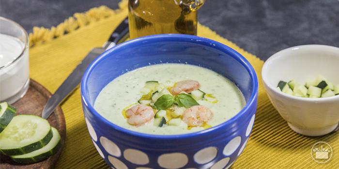Las recetas de Mercadona, Sopa fría de Pepino y Yogur griego