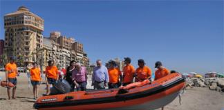 El Ayuntamiento de Alboraya compra una lancha de rescate para socorrismo sin motor