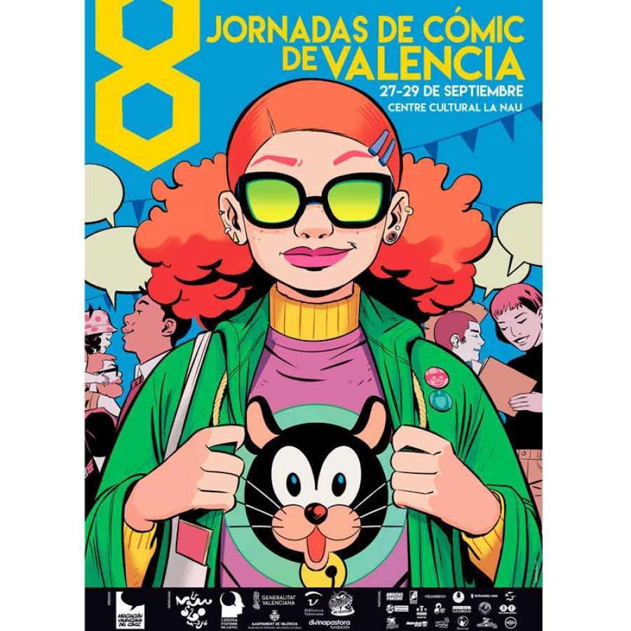Cartel 8 jornada del comic
