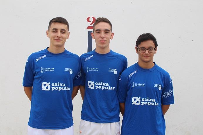 L'equip de Vicent Cuadrat i Juan Carlos va guanyar en la Pobla de Vallbona