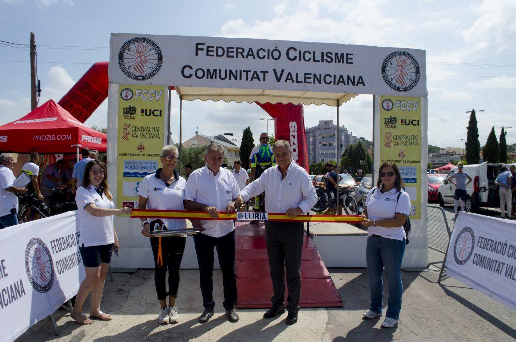Vuelta Comunitat Valencia corte cinta Lliria
