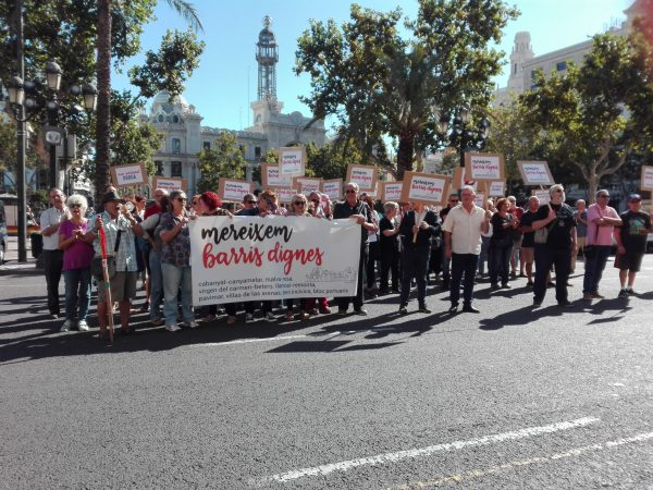 Nueva protesta del Maritim contra Ribó