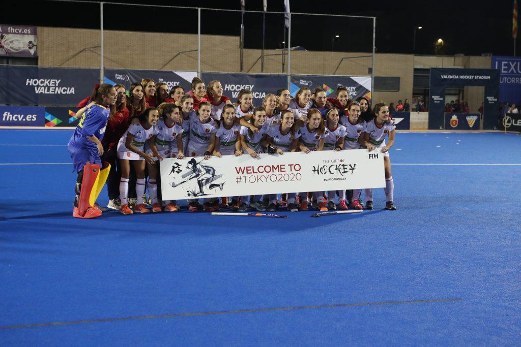 Selección femenina de hockey clasificada para la Olimpiada de Tokio