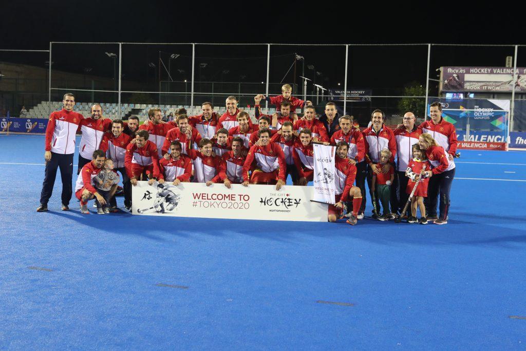 Selección masculina de Hockey clasificada para olimpiada de Tokio