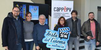 """""""Festa del cinema en Valencià"""" de la catalanista Escola Valenciana patrocinada por la Generalitat de Catalunya"""