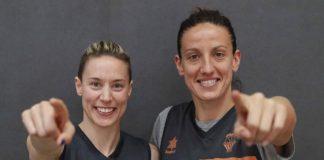 Anna Gómez y María Pina, conociendo más a las primeras anotadoras europeas