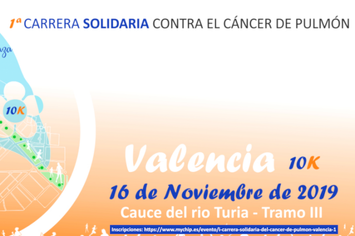 Carrera solidaria contra cáncer de pulmon