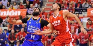 Derrota del Valencia Basket en la prórroga en Murcia (97-95)