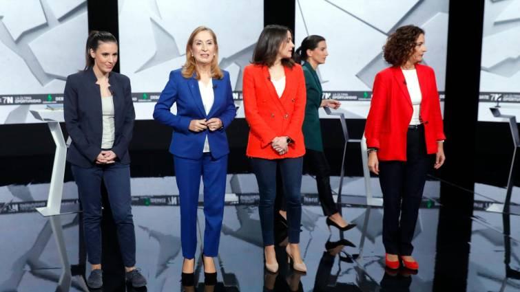 Las candidatas de PSOE, PP, Ciudadanos y Unidas Podemos coinciden en modificar el delito de violación en la ley