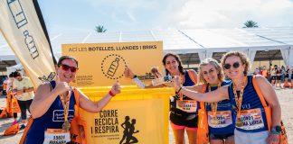 El Medio Maratón Valencia recupera para su reciclaje el 99,9% de los envases utilizados