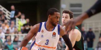 Valencia Basket mejora pero no consigue ganar en el OAKA (91-80)