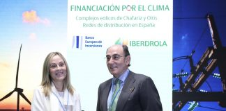 El BEI e Iberdrola firman dos acuerdos de financiación por 690 millones de euros