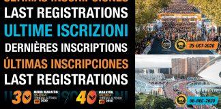 Medio Maratón y Maratón Valencia ya están en su último tramo de inscripciones