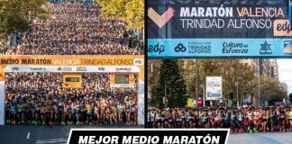 El Medio Maratón y Maratón logran registros históricos como las mejores carreras de España